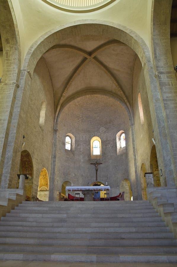Kathedraal van Acerenza Basilicata Italië stock afbeeldingen