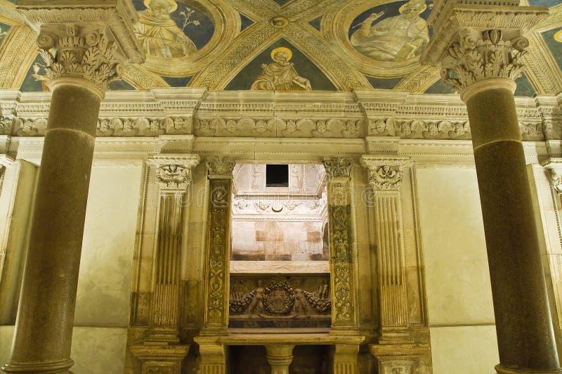 Kathedraal van Acerenza Basilicata Italië stock fotografie