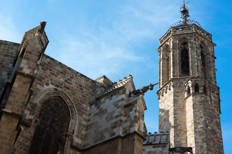 Kathedraal van Barcelona royalty-vrije stock fotografie