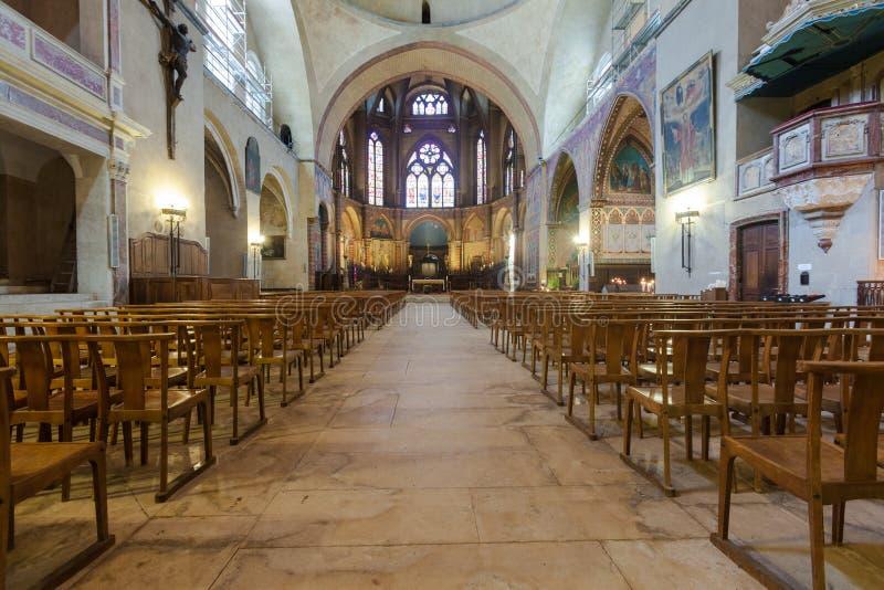 Kathedraal van Cahors royalty-vrije stock afbeeldingen