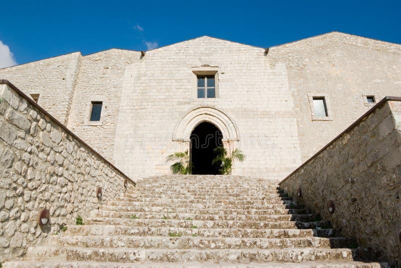 Kathedraal van Caltabellotta royalty-vrije stock foto's