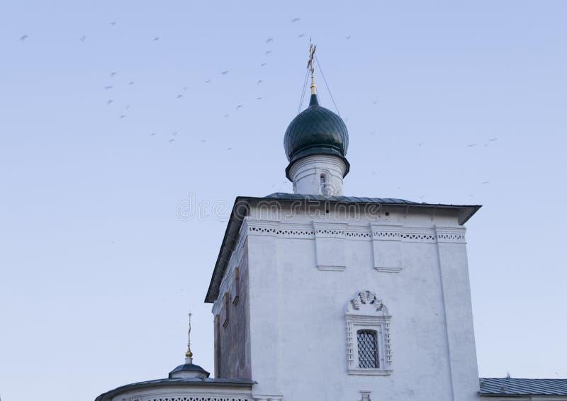 Kathedraal van Christus de redder in Irkoetsk, Russische federatie royalty-vrije stock fotografie