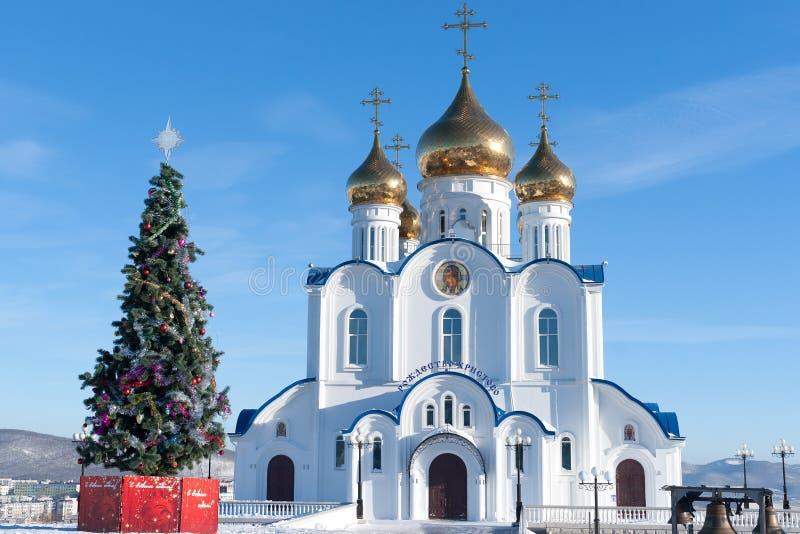 Kathedraal van de Heilige Drievuldigheid stock afbeelding