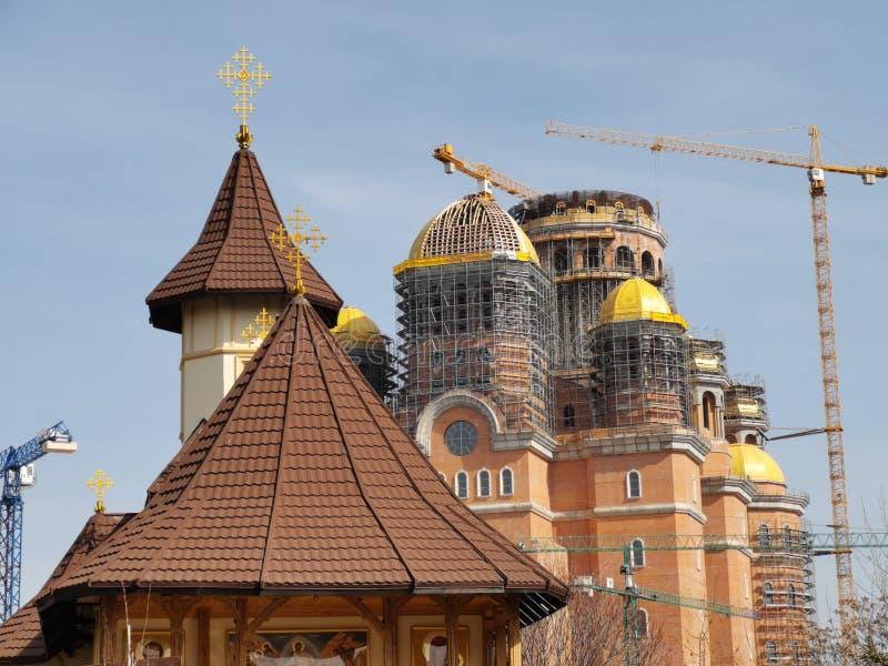 Kathedraal van de Redding van de Natie, Boekarest stock fotografie