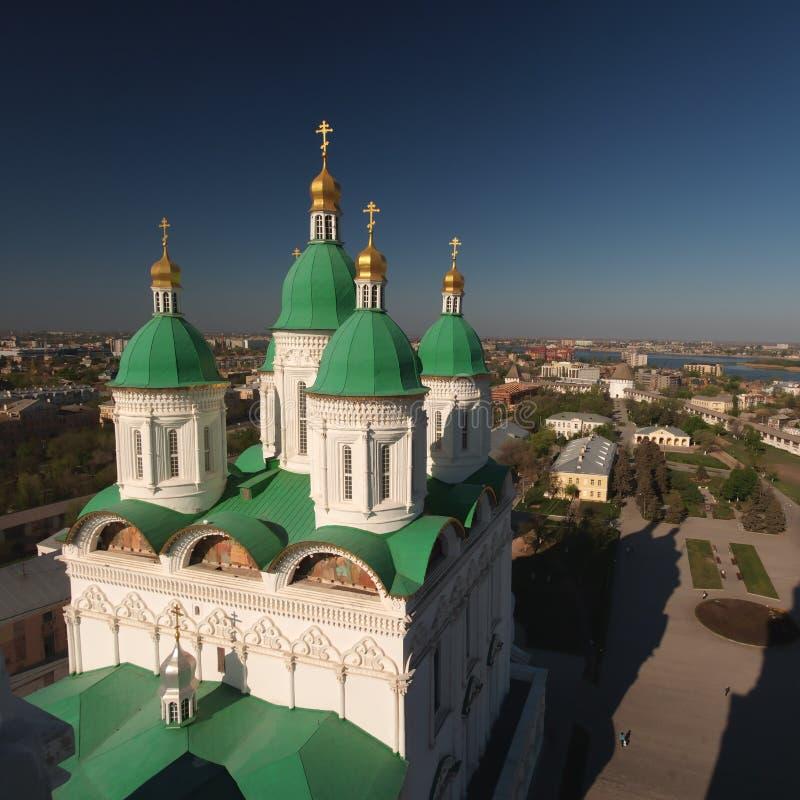 Kathedraal van de Veronderstelling, 1698â1710 stock foto's
