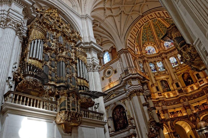 Kathedraal van Granada royalty-vrije stock afbeeldingen