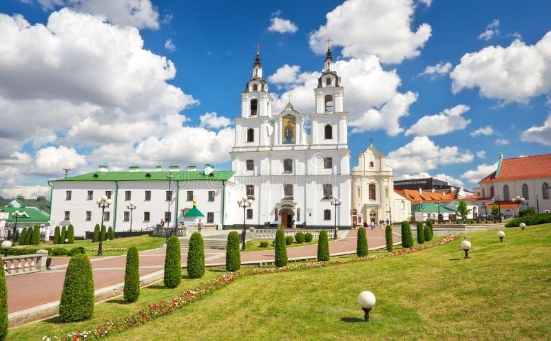 Kathedraal van Heilige Geest in Minsk royalty-vrije stock foto