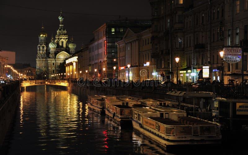 Kathedraal van het Gemorste Bloed, St. Petersburg, Rusland royalty-vrije stock foto