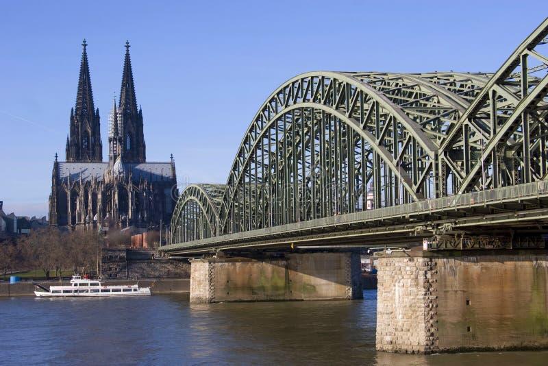 Kathedraal van Keulen stock afbeelding
