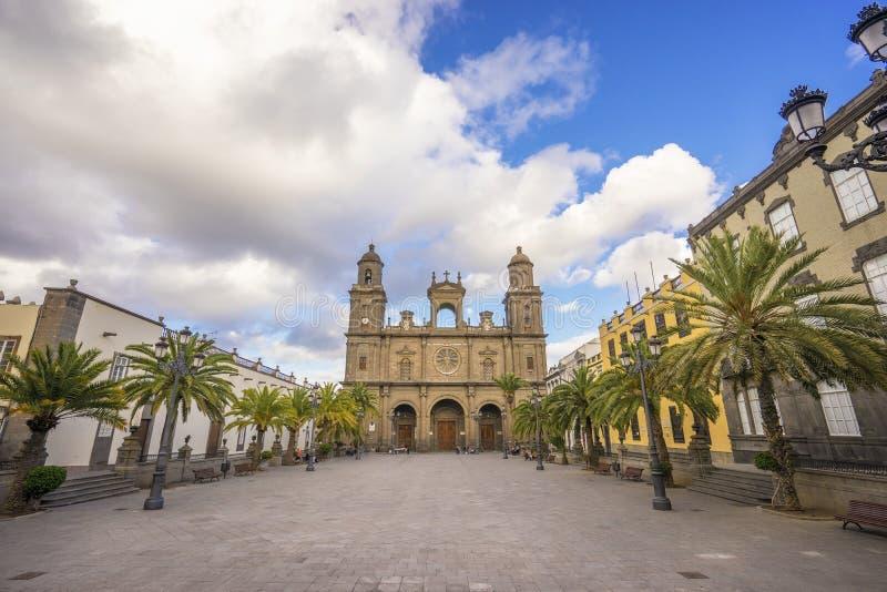 Kathedraal van Las Palmas de Gran Canaria royalty-vrije stock foto