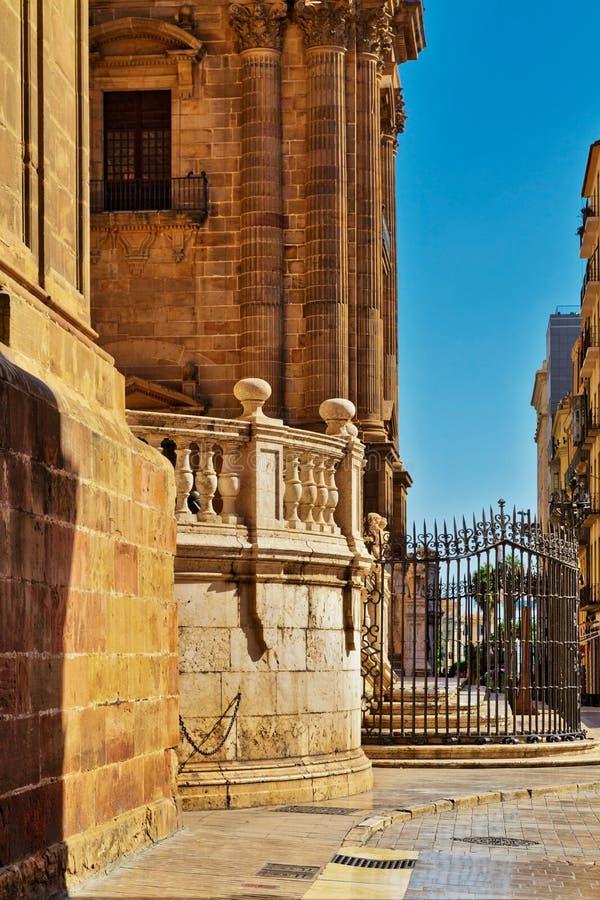 Kathedraal van Malaga Basilica DE La Encarnacion stock fotografie