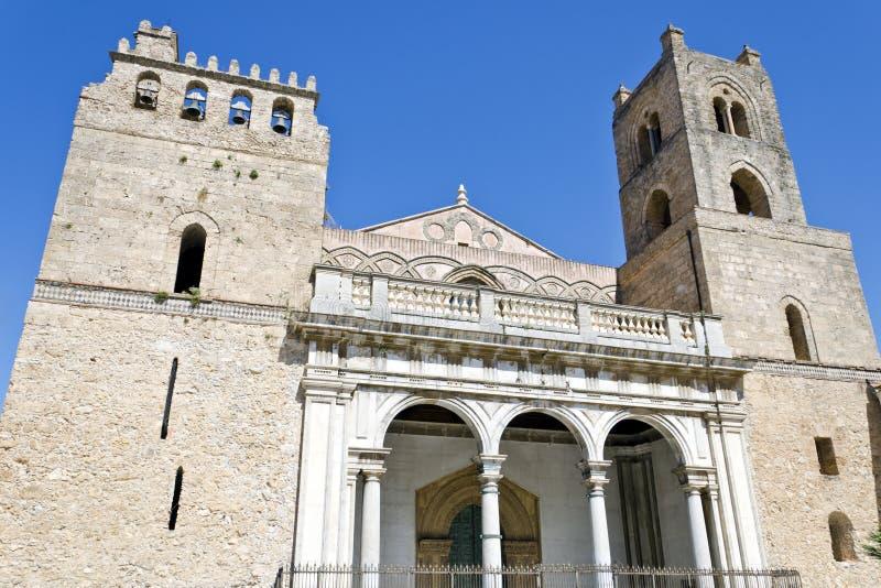 Kathedraal van Monreale royalty-vrije stock afbeelding