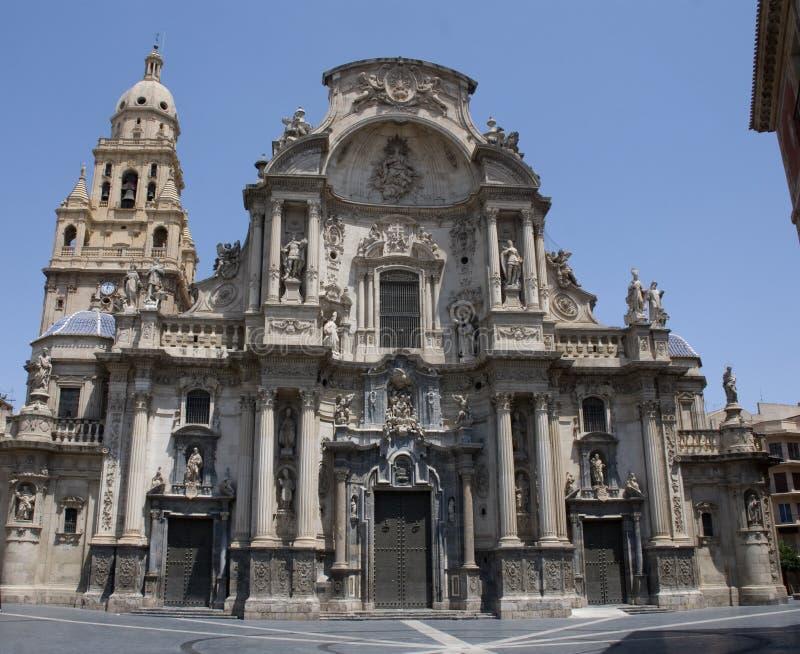 Kathedraal van Murcia royalty-vrije stock foto's