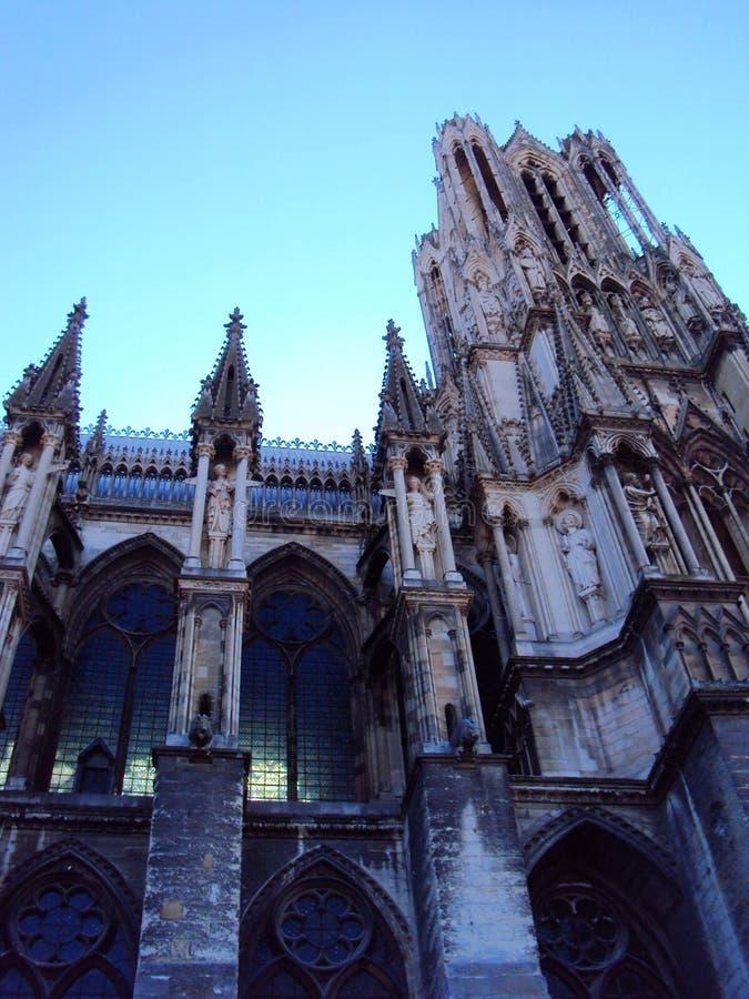Kathedraal van Onze Dame van Reims royalty-vrije stock foto