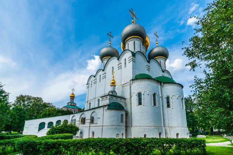Kathedraal van Onze Dame van Smolensk royalty-vrije stock afbeeldingen