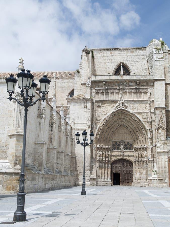 Kathedraal van palencia royalty-vrije stock foto's