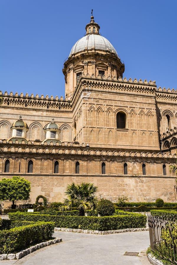 Kathedraal van Palermo in Sicilië, Italië stock fotografie
