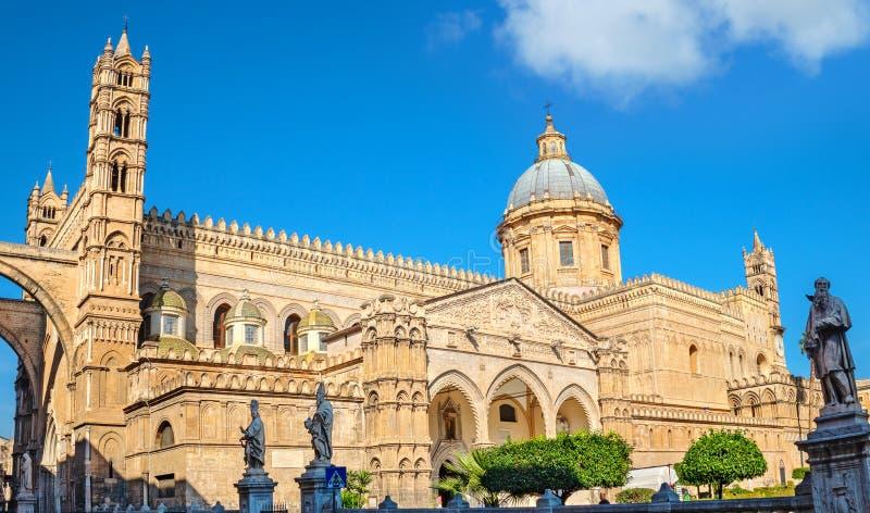 Kathedraal van Palermo Sicili?, Itali? royalty-vrije stock afbeeldingen