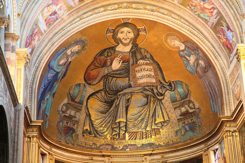 Kathedraal van Pisa, Italië royalty-vrije stock foto