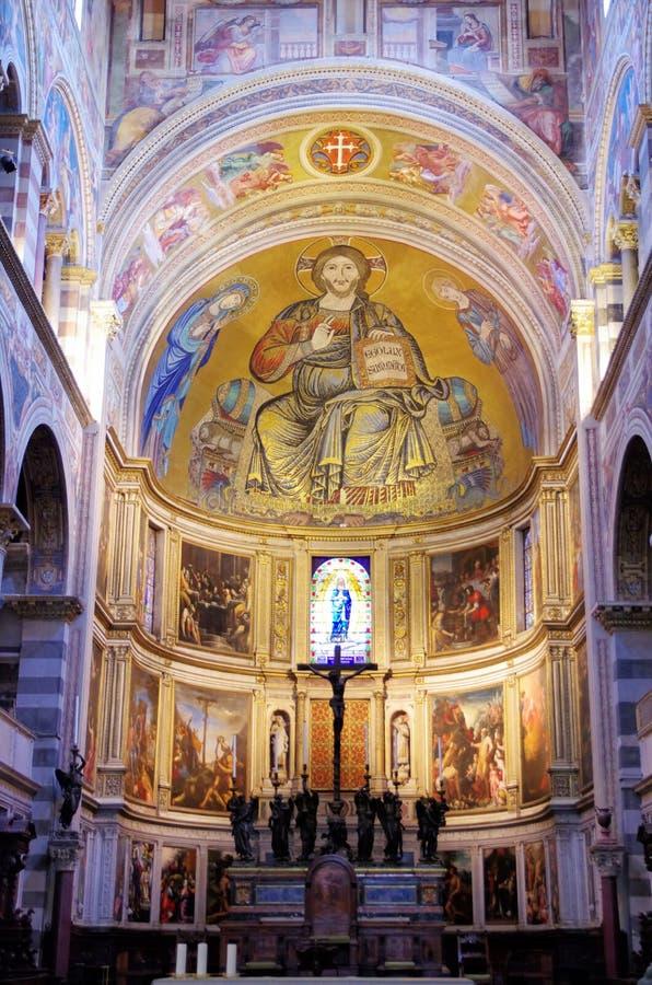 Kathedraal van Pisa, Itally royalty-vrije stock foto's
