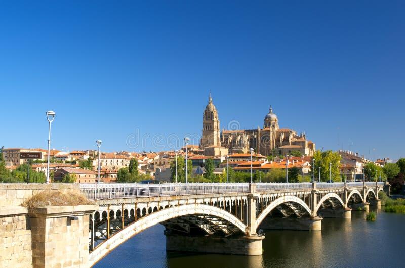 Kathedraal van Salamanca royalty-vrije stock foto's