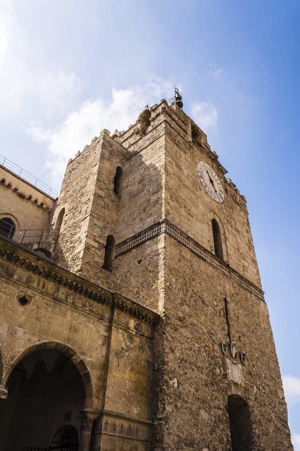 Kathedraal van Santa Maria Nuova, Monreale, Palermo, Sicilië, Italië stock foto's