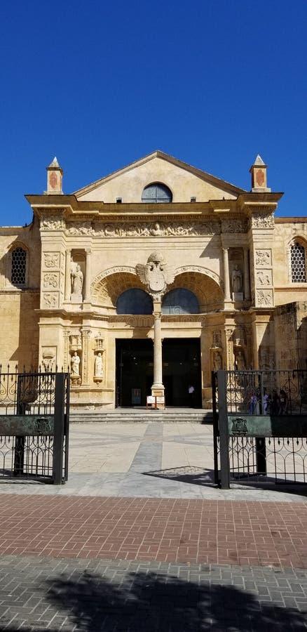 Kathedraal van Santa Maria Santo Domingo royalty-vrije stock afbeelding