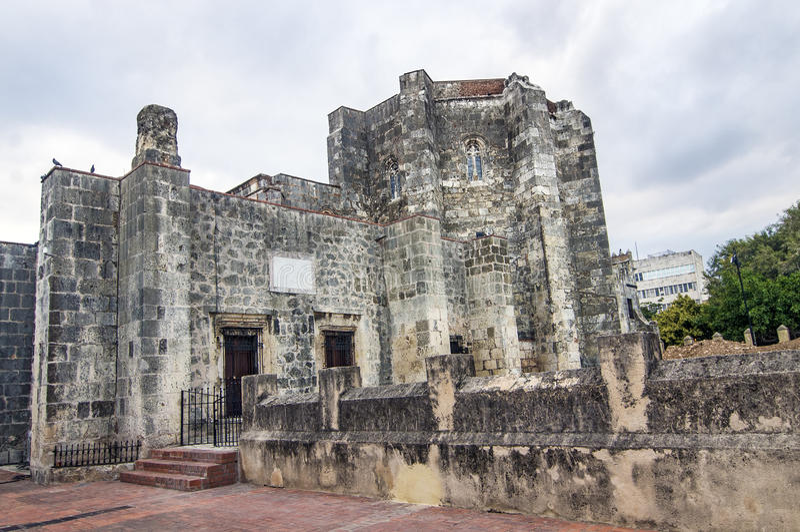 Kathedraal van Santo Domingo, Dominicaanse Republiek royalty-vrije stock afbeelding