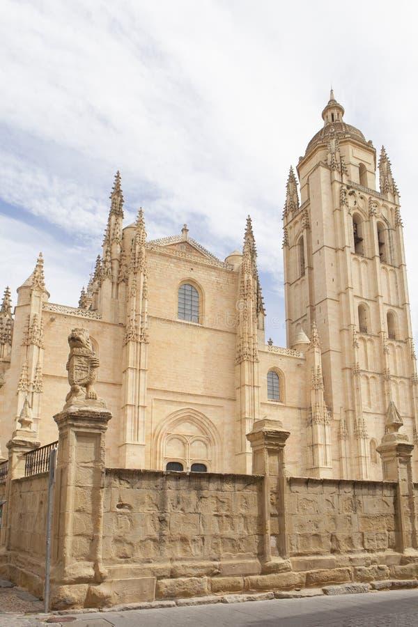 Kathedraal van Segovia stock fotografie