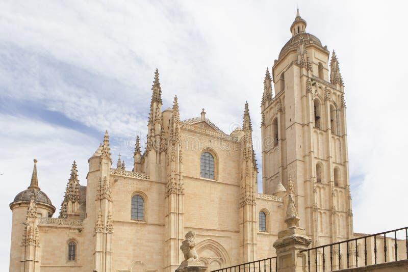 Kathedraal van Segovia Spanje stock foto