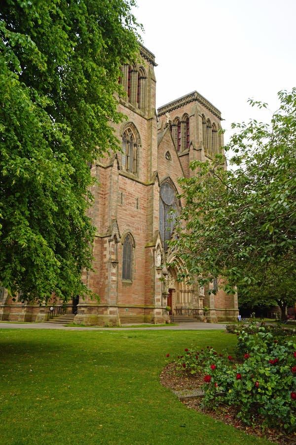 Kathedraal van St Andrew Iverness stock fotografie