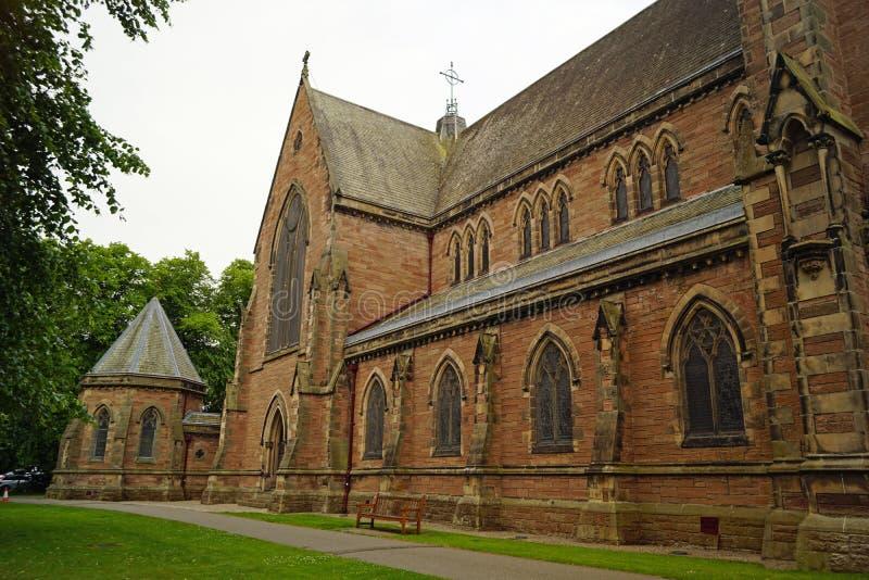 Kathedraal van St Andrew Iverness royalty-vrije stock foto