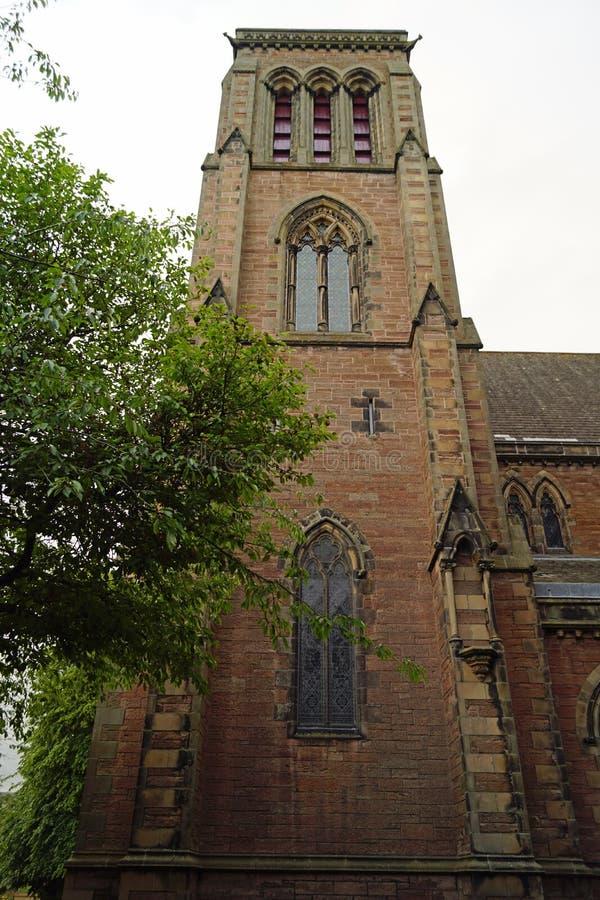 Kathedraal van St Andrew Iverness royalty-vrije stock foto's
