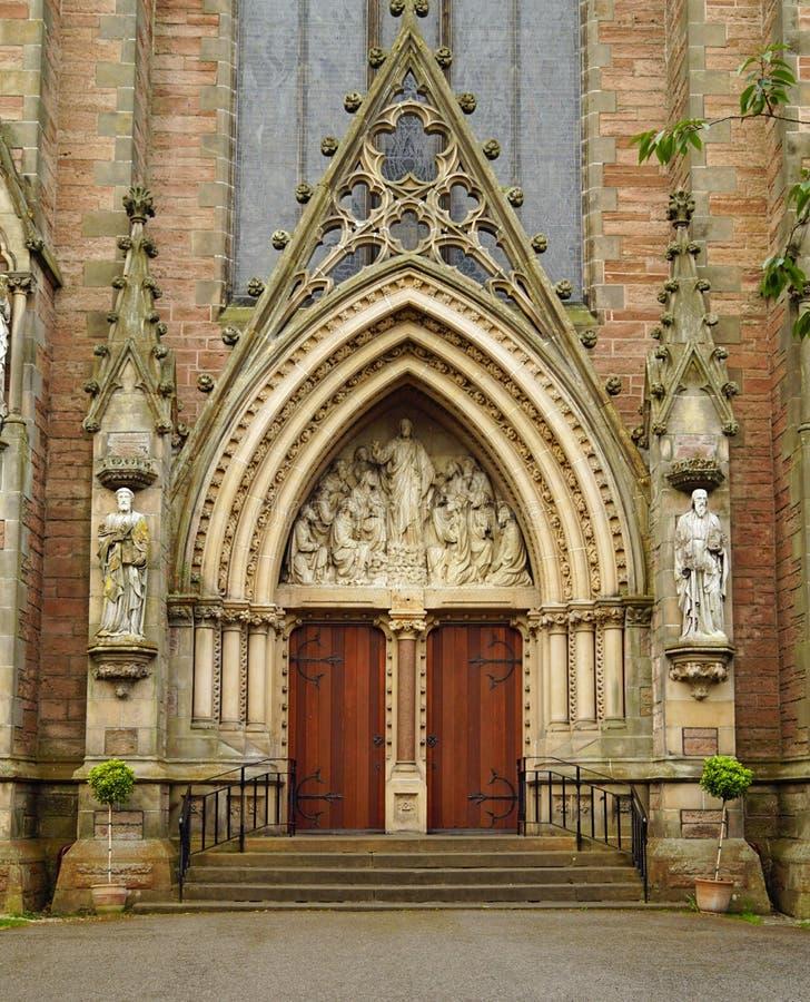 Kathedraal van St Andrew Iverness royalty-vrije stock afbeeldingen