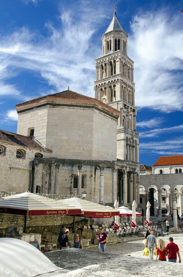 Kathedraal van St. Domniusa royalty-vrije stock afbeelding
