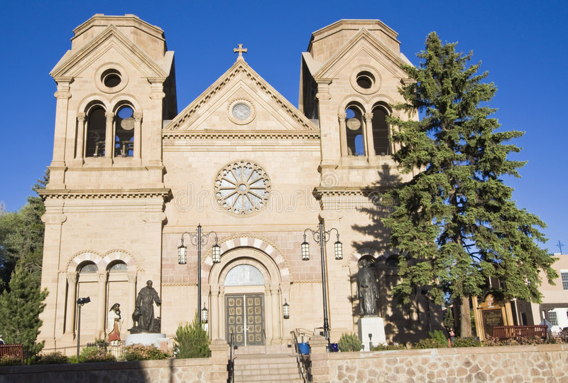 Kathedraal van St. Francis van Assisi stock afbeelding