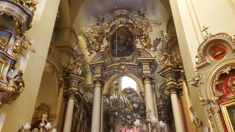 "Kathedraal van St George Cathedral †de"" belangrijkste Griekse Katholieke Kathedraal in Lviv royalty-vrije stock foto"