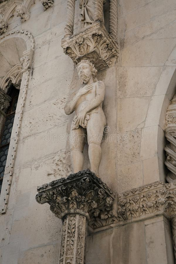 Kathedraal van St James in Sibenik stock fotografie