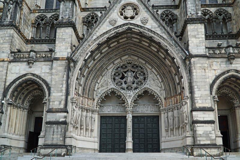 Kathedraal van St John Goddelijk stock afbeeldingen