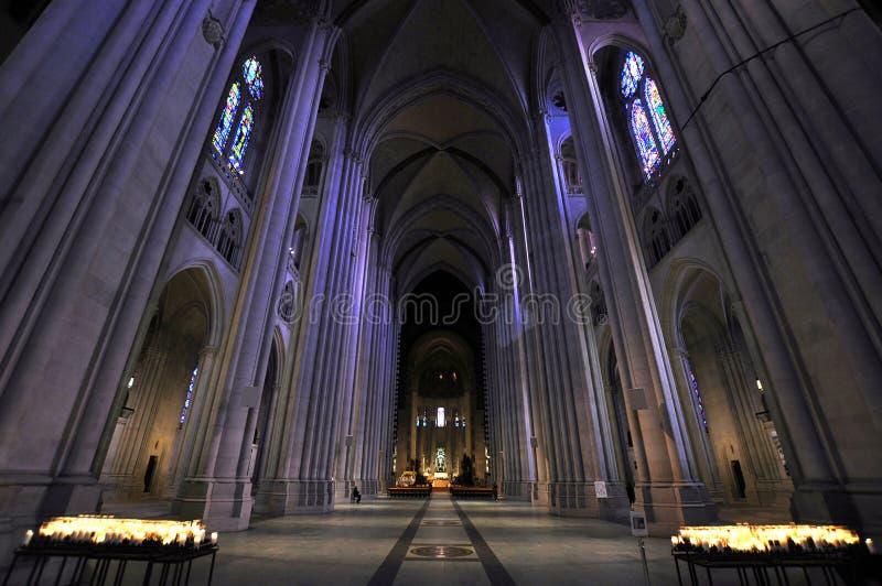 Kathedraal van St. John Goddelijk stock foto