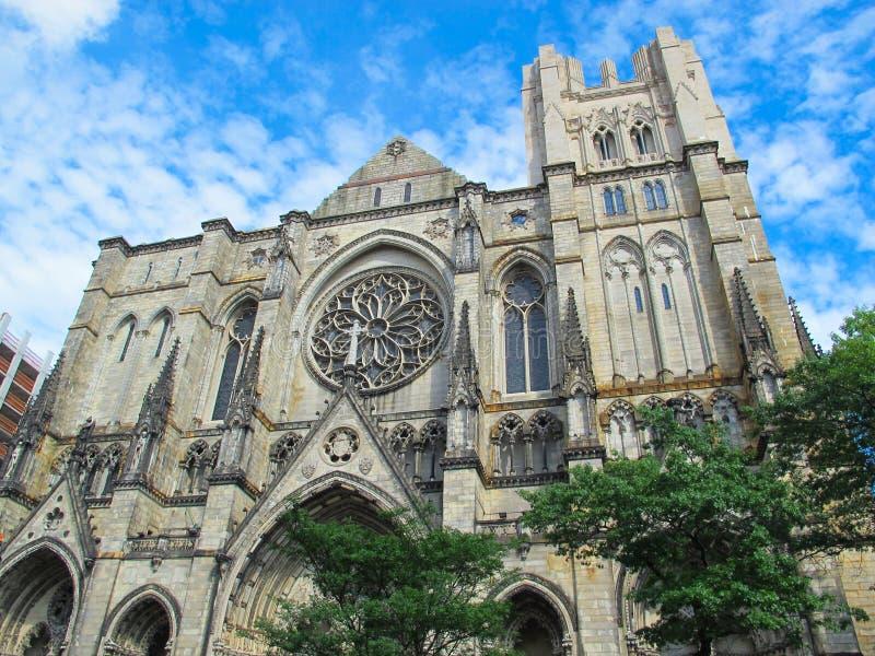 Kathedraal van St John Goddelijk, NYC royalty-vrije stock foto