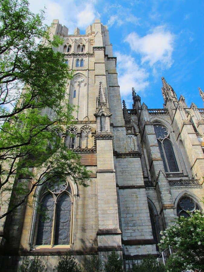 Kathedraal van St John Goddelijk, NYC stock fotografie