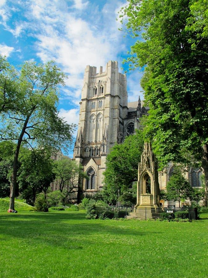 Kathedraal van St John Goddelijk, NYC royalty-vrije stock afbeeldingen