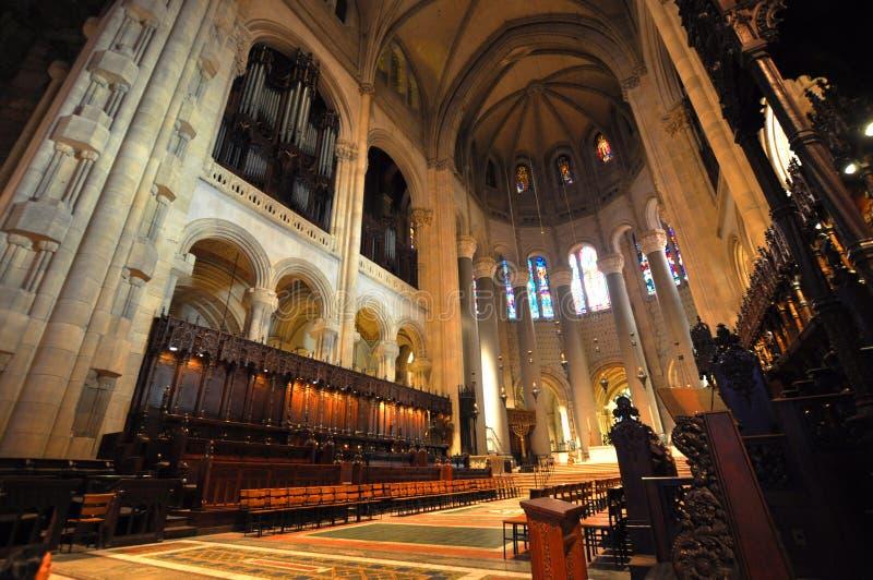 Kathedraal van St. John Goddelijk, NYC royalty-vrije stock foto
