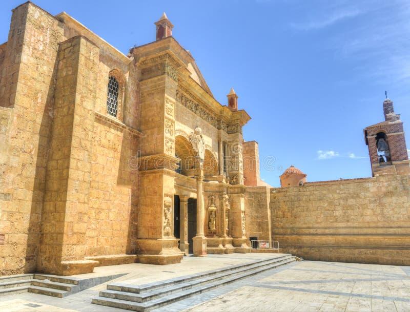 Kathedraal van St Mary van de Incarnatie, Santo Domingo, Dominic stock foto's