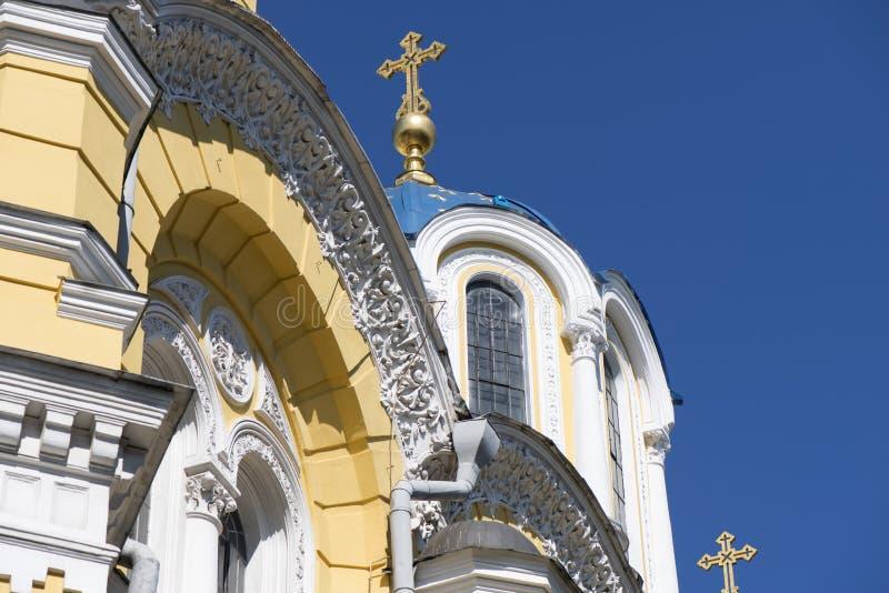 Kathedraal van St. Vladimir in Kiev royalty-vrije stock fotografie