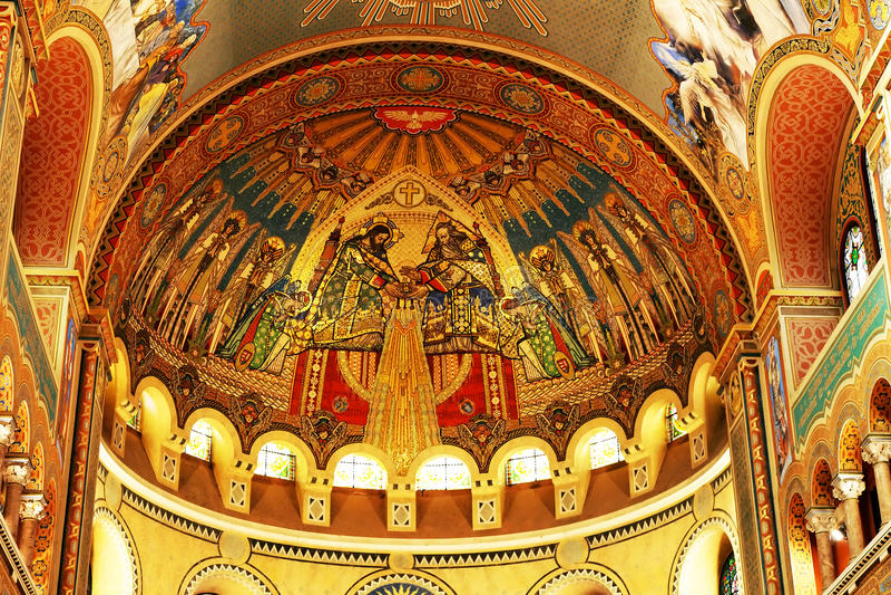 Kathedraal van Szeged royalty-vrije stock fotografie