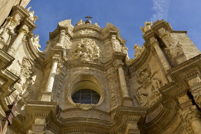 Kathedraal van Valencia stock fotografie