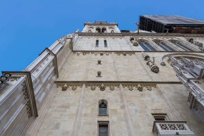 Kathedraal van Zagreb, Kroatië royalty-vrije stock fotografie