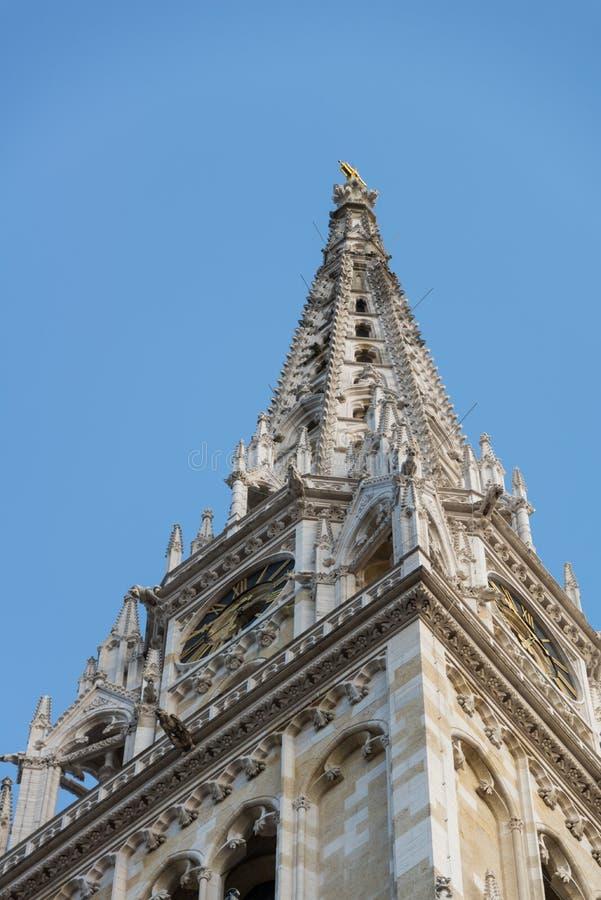 Kathedraal van Zagreb, Kroatië stock afbeelding
